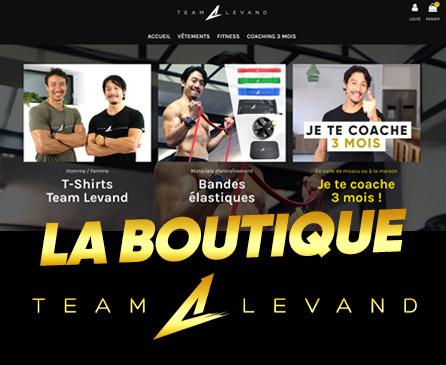 Team Levand - La boutique d'Alex Levand