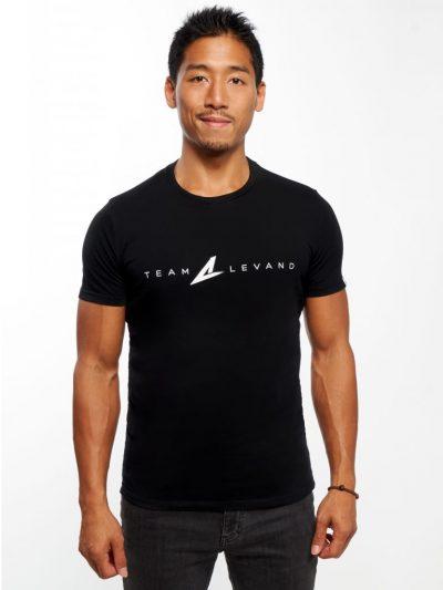 T-Shirt Noir Team Levand