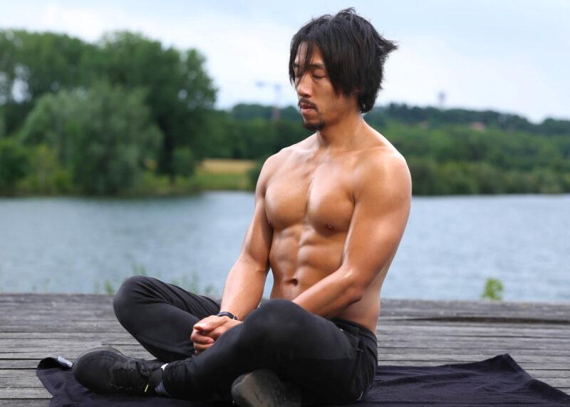 Perds du poids en méditant