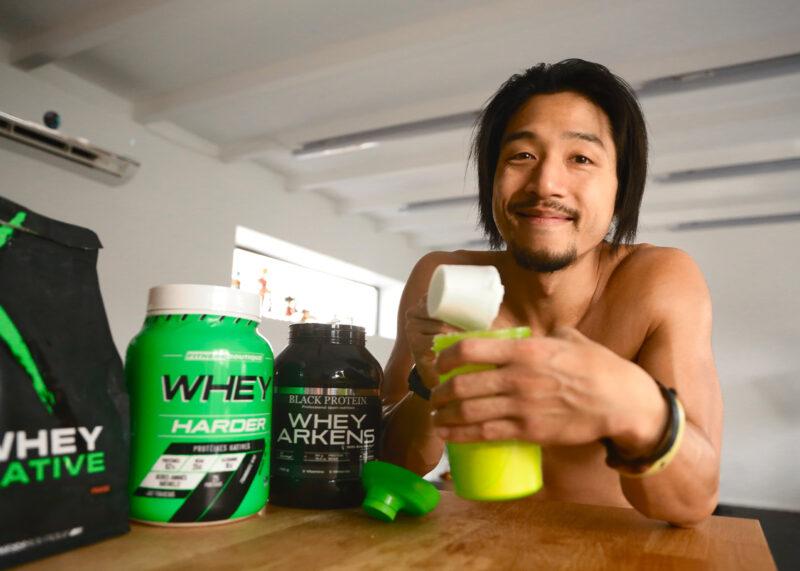 Quand prendre de la whey ou des protéines?